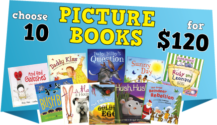 Book Specials: Choose 10 Picture Books for $120